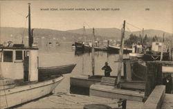 Wharf Scene