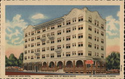 Ponce De Leon Hotel, Central Ave. at Beach Drive