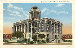 Cooke County Court House Postcard
