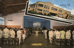 U.S.O Club and Auditorium