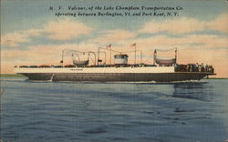 M.V. Valcour of the Lake Champlain Transportation Co.