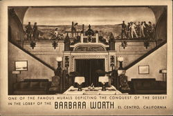 Mural in Lobby of the Barbara Worth