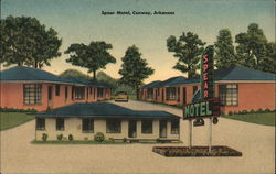Spear Motel Postcard