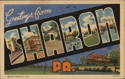 Greetings From Sharon, PA.