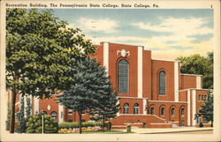Recreation Building, The Pennsylvania State College