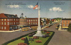 Mifflin County Soldiers and Sailors Memorial, Monument Square