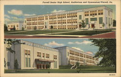 Senior High School Building, Auditorium and Gymnasium