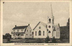 Community Church and Parsonage