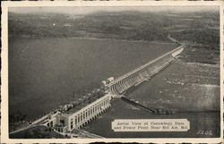 Aerial View of Conowingo Dam and Power Plant
