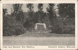 First Gas regiment War Memorial