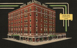 Hotel Dale, Town's Newest and Only Fireproof Hotel