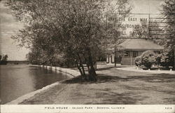Field House, Island Park Postcard