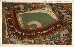 "Wrigley Field, ""Home of the Chicago Cubs"""