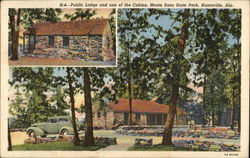 Monte Sano State PArk - Public Lodge and Cabin