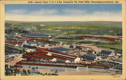 Aerial View, T.C.I. & Ry. Company, Tin Plate Mills