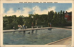 Pool and Golf Course