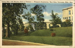Kent State University - Lowry and Moulton Halls Postcard