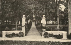 Class 1929 Gate to Hathorp Hall, Bates College