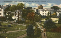View of Campus from Library, Univ. of South Carolina