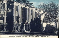Chemistry Building at the University of South Dakota Postcard