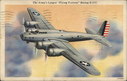 The Army's Largest Flying Fortress Boeing B-17C