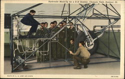 Hydraulic Mock-up for a B-18 Bomber, Chanute Field