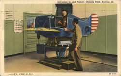 Instruction in Link Trainer, Chanute Field