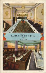 Saint Francis Hotel Lobby and Cafeteria