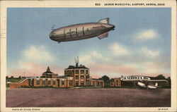 Administration Building and Airship