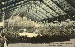 Interior, Purdue Field House, Purdue University
