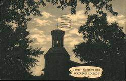 Wheaton College - Tower, Blanchard Hall