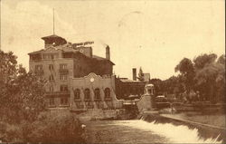 Hotel Baker, The Beauty Spot of the Fox River Valley Postcard
