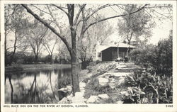 Mill Race Inn on the Fox River Postcard