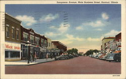 Sangamon Avenue, Main Business Street