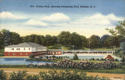 Pullen Park, Showing Swimming Pool