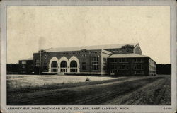 Armory Building at Michigan State College