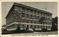 Physics Building, University of Michigan