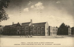 Fred L. Keeler Union & Men's Dormitory, Central State Teachers College