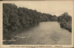Huron River, Near Michigan State Normal School