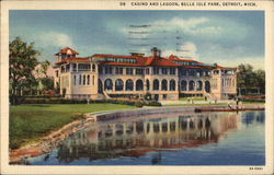Belle Isle Park - Casino and Lagoon