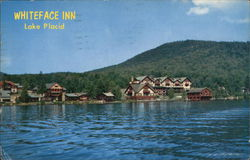 Whiteface Inn on Lake Placid, in the Adirondacks.