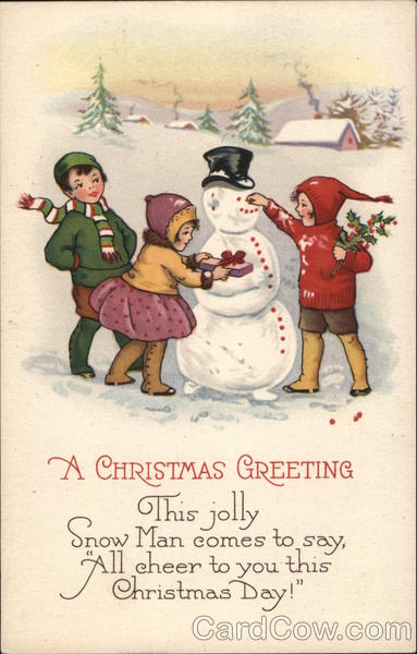 A Christmas Greeting Children