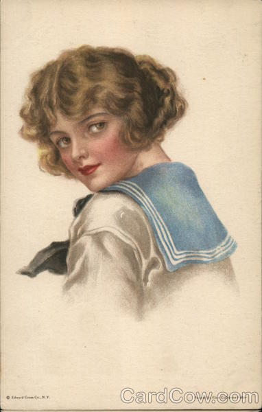 Pretty Young Girl Elsie Catherine Fidler Women