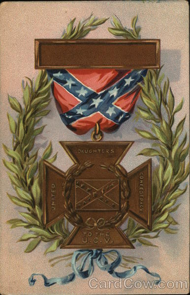 United Daughters of Confederacy Medal Patriotic