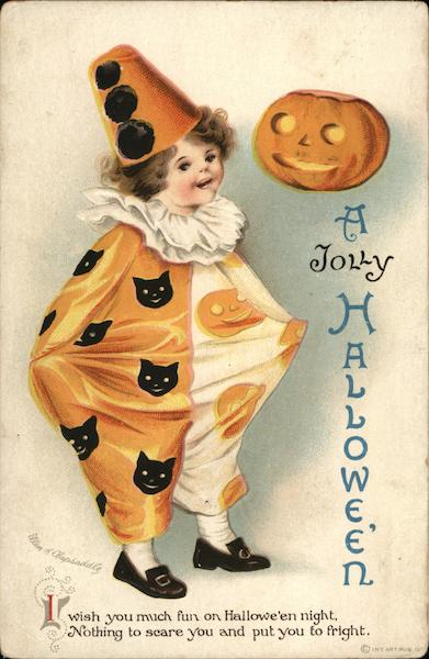 A Jolly Halloween Frances Brundage
