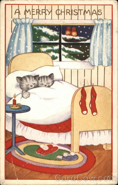 A Merry Christmas With Cats