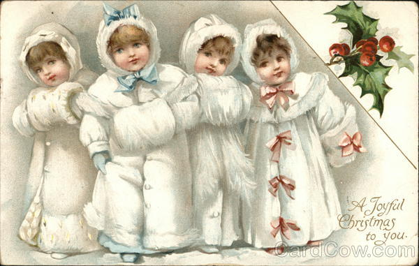 A Joyful Christmas to You Ernest Nister Children