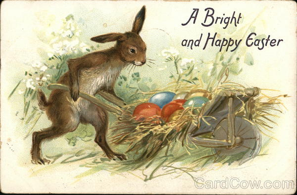 A Bright and Happy Easter With Bunnies