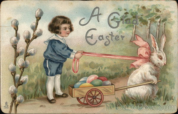 A Glad Easter With Children
