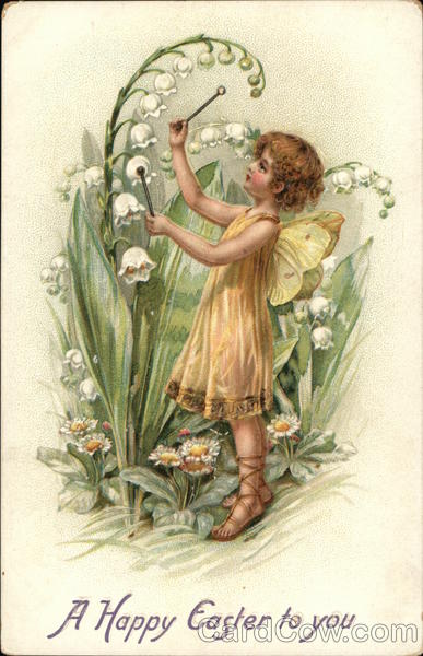 A Happy Easter To You With Fairies